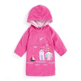 Towelling Hooded Pull On