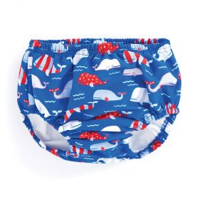 Swim Nappy  Stripped Whale