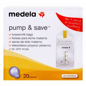 Pump & Save 20 pieces