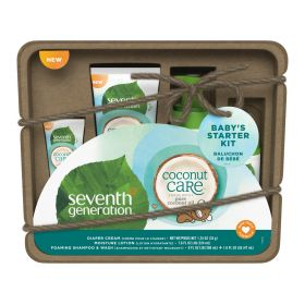 Seventh Generation Baby Personal Care Diaper Cream Tube with Coconut care