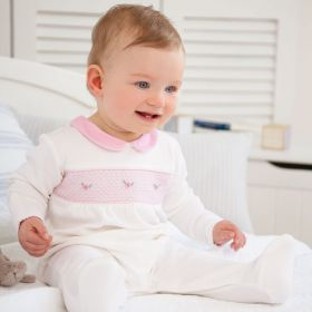 Pretty Embroidered Sleepsuit