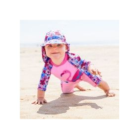 1-Piece Suit Sun Protection Flamingo