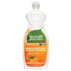 Seventh Generation Dish Liquid-Lemongrass & Clementine Zest