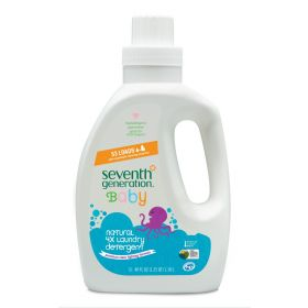 Seventh Generation Baby Liquid Laundry 4X