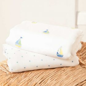 2-Pack Extra Large Nautical Muslins