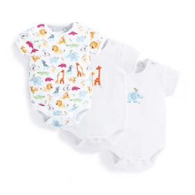 3 Pack Safari Bodysuit