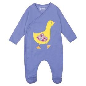 Duck Aplique Sleepsuit Blue Bell