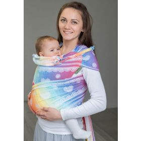 Wrap Tai Mini Rainbow Lace White